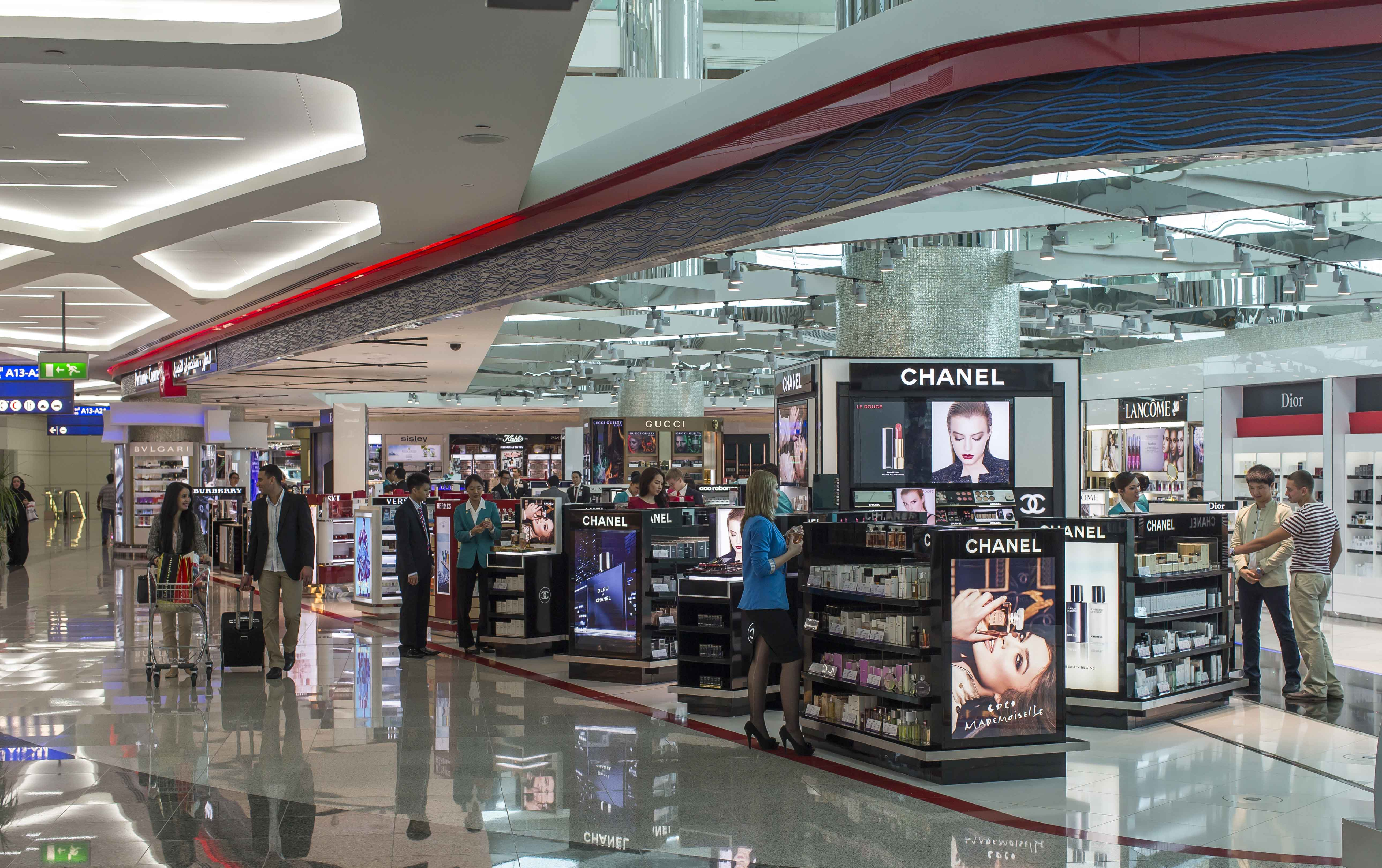 What is airport retailing?